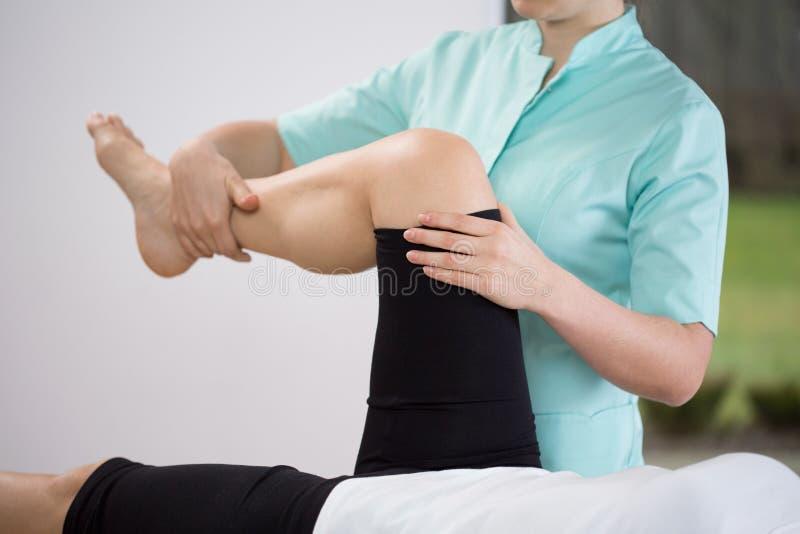 更低的肢体的锻炼 免版税库存照片