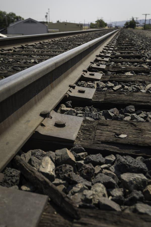 低的铁路 免版税图库摄影