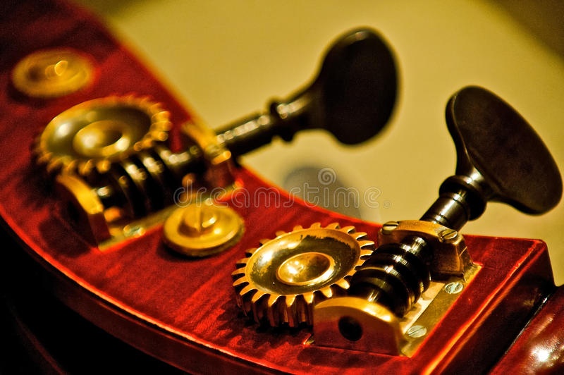 低音条频器细节  库存照片