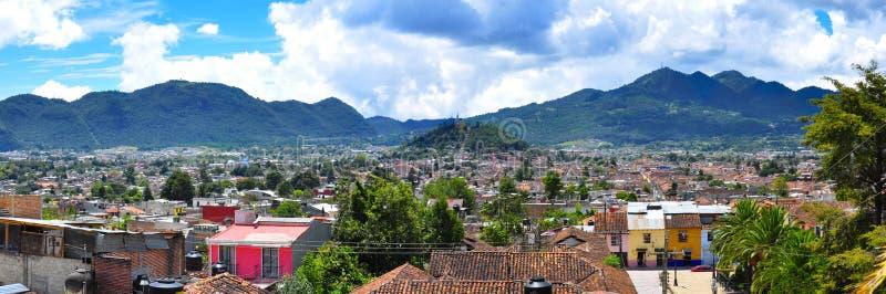 住处cristobal de la墨西哥圣 免版税库存图片