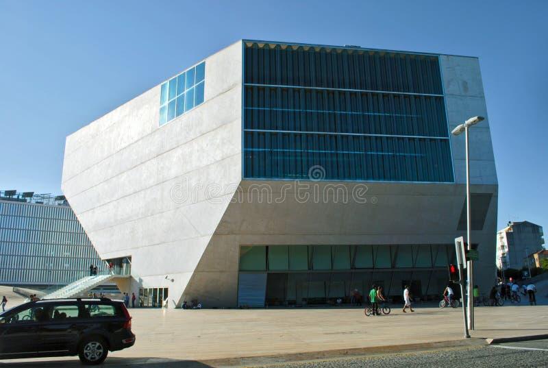 住处da Musica,波尔图 库存照片
