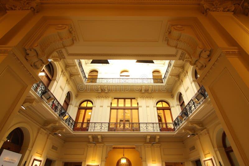 住处Rosada的内部 免版税库存图片
