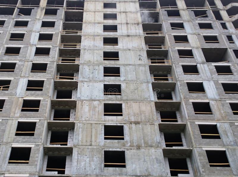 住宅公寓整体房子建设中地板的建筑 免版税库存图片