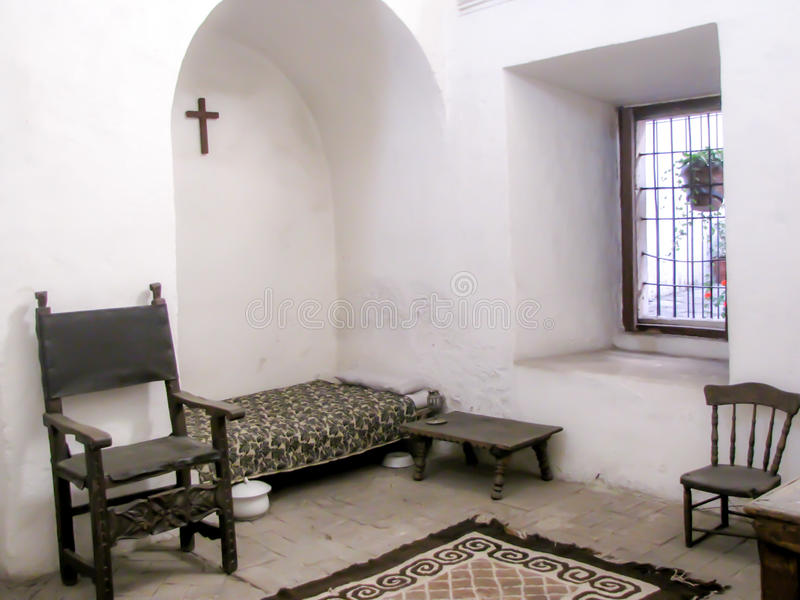 住宅在Ariquippa秘鲁女修道院 库存照片