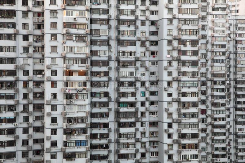 住宅大厦的高层 免版税库存图片