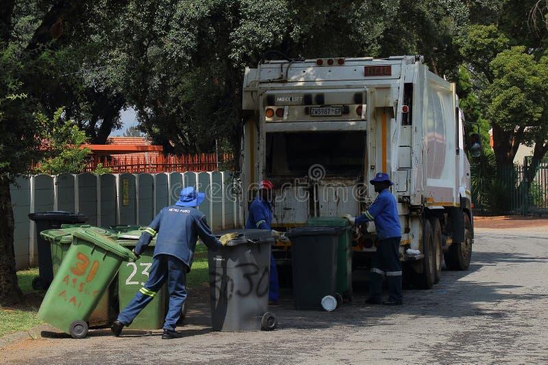 住宅废物收集 免版税库存图片