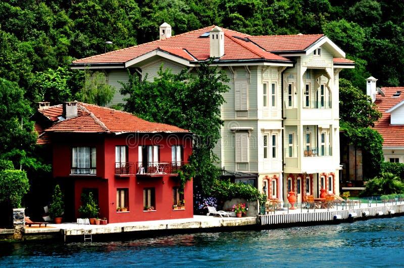 住宅海滨 图库摄影