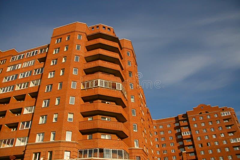 住宅的大厦 免版税库存图片