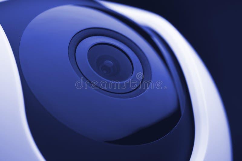 住家安全照相机lense 免版税图库摄影
