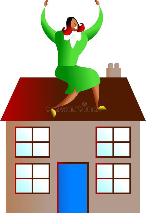住房成功 向量例证