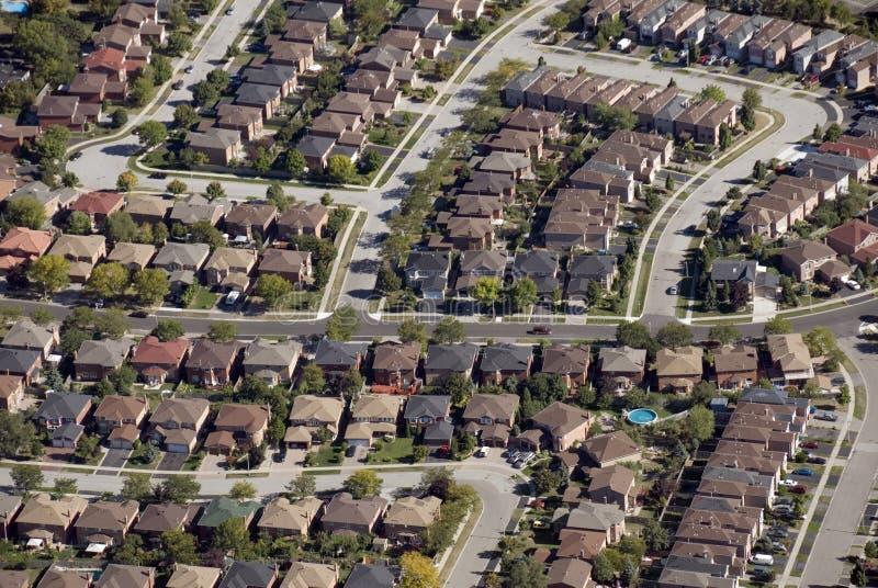 住房模式 免版税库存照片