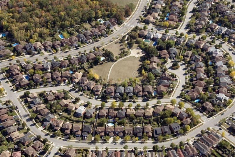 住房模式 库存照片