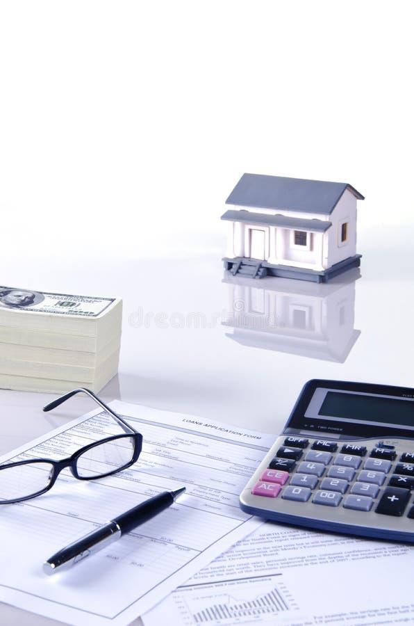 住房贷款 库存照片
