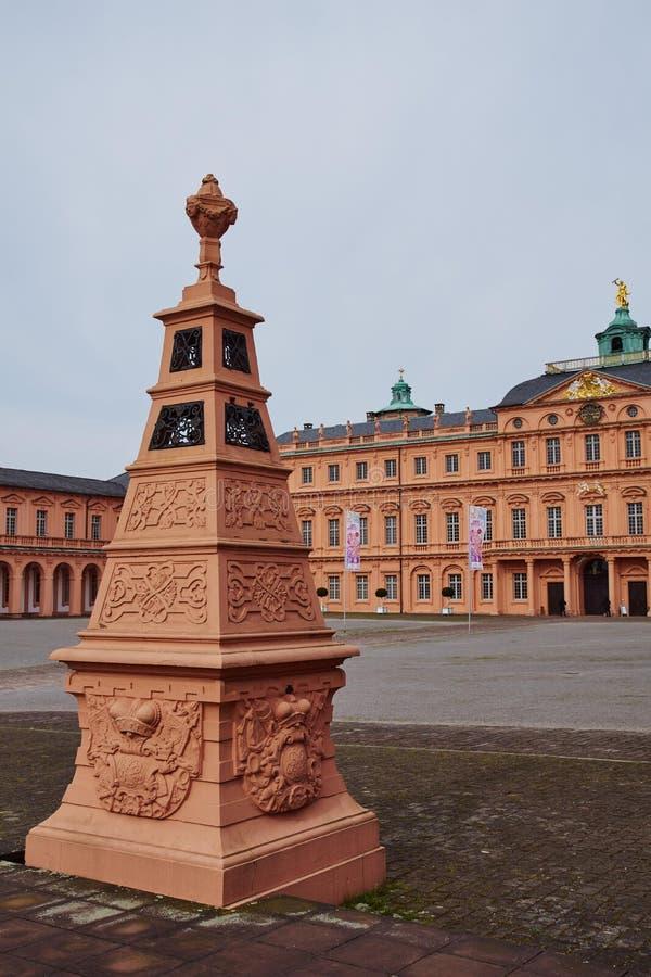 住所城堡拉施塔特 库存照片