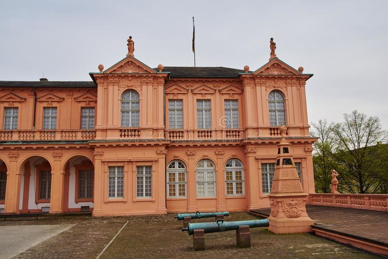 住所城堡拉施塔特 图库摄影
