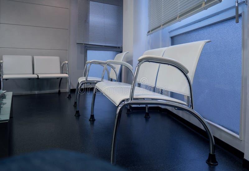 住院医生内阁的候诊室 库存照片