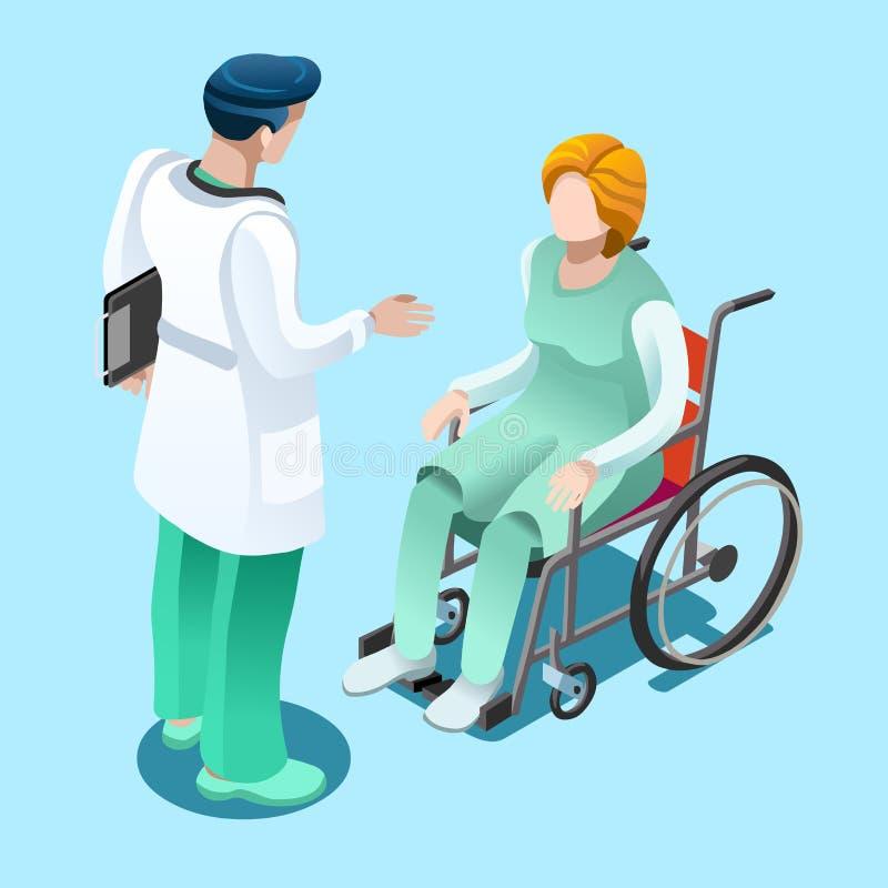 住院医生谈话与耐心传染媒介等量人民 皇族释放例证