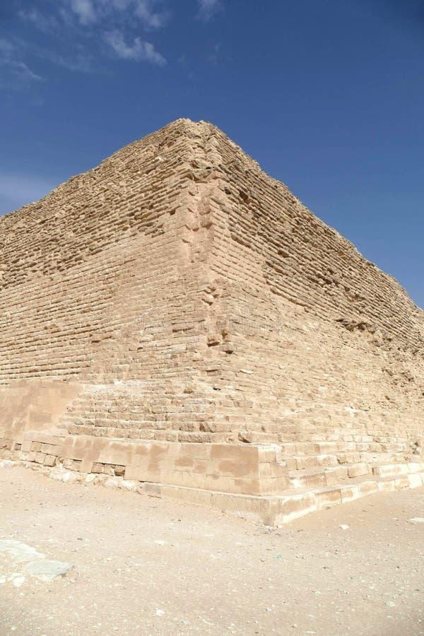 佐泽的阶梯金字塔,第一次 免版税库存图片