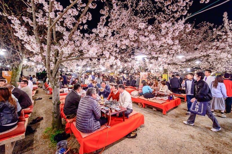 佐仓节日在日本 免版税库存照片