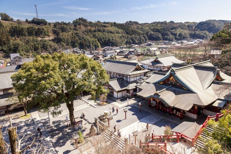佑德Inari是神道圣地在鹿岛市,佐贺县,九州海岛,日本 免版税库存照片