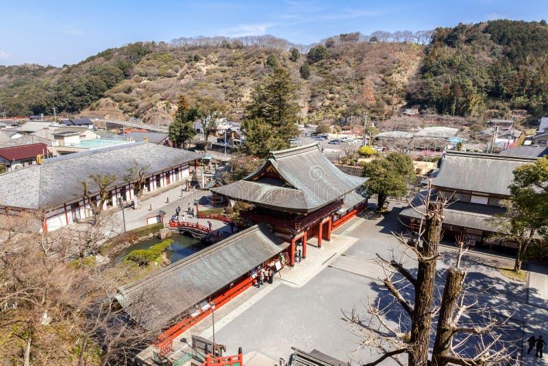 佑德Inari是神道圣地在鹿岛市,佐贺县,九州海岛,日本 库存照片