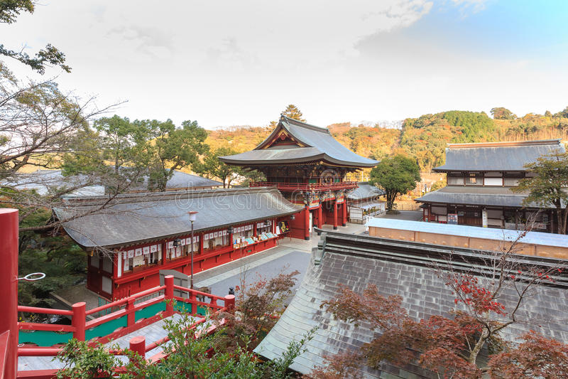 佑德Inari-jinja寺庙,日本 免版税库存图片