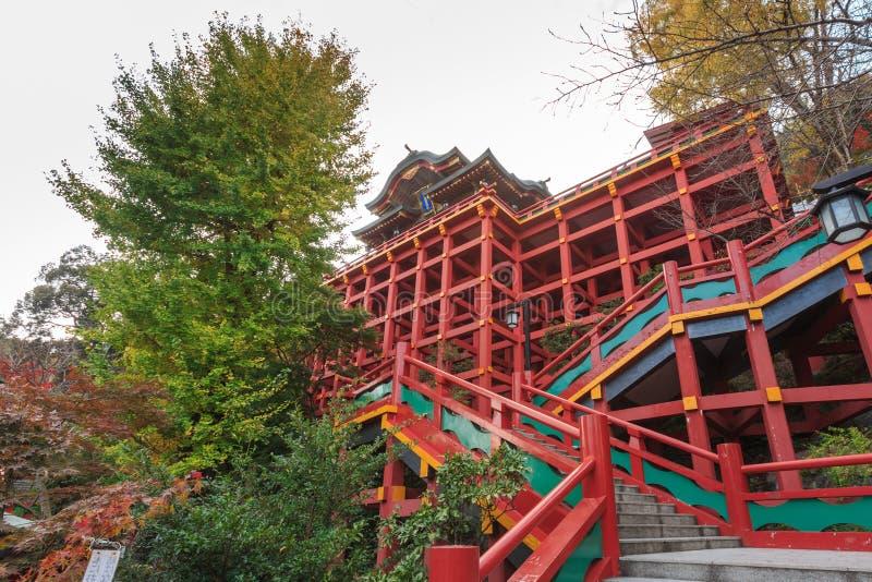 佑德Inari-jinja寺庙,日本 库存照片