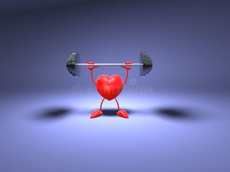 体型重点 向量例证