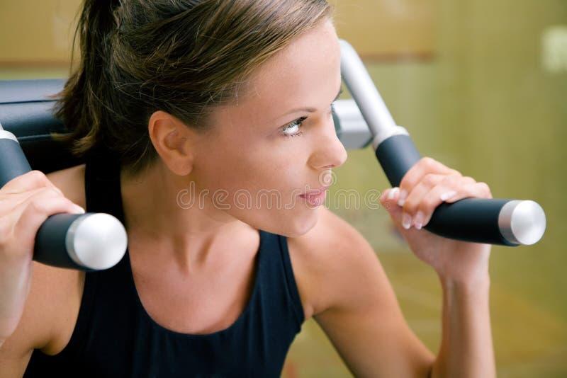 体操妇女工作 库存图片