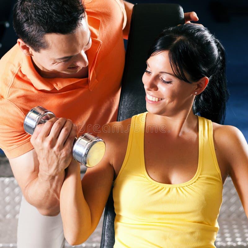 体操私有培训人 图库摄影
