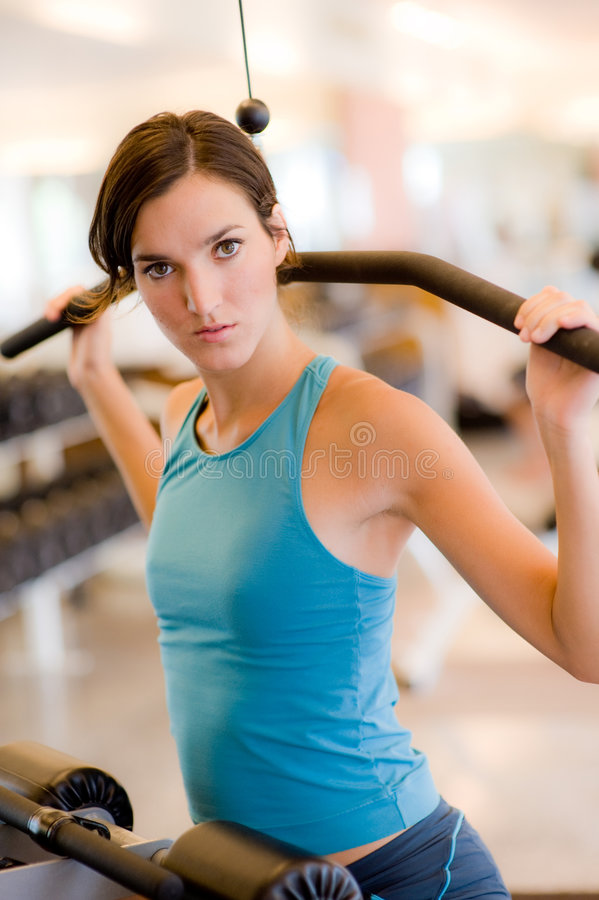 体操锻炼 库存图片