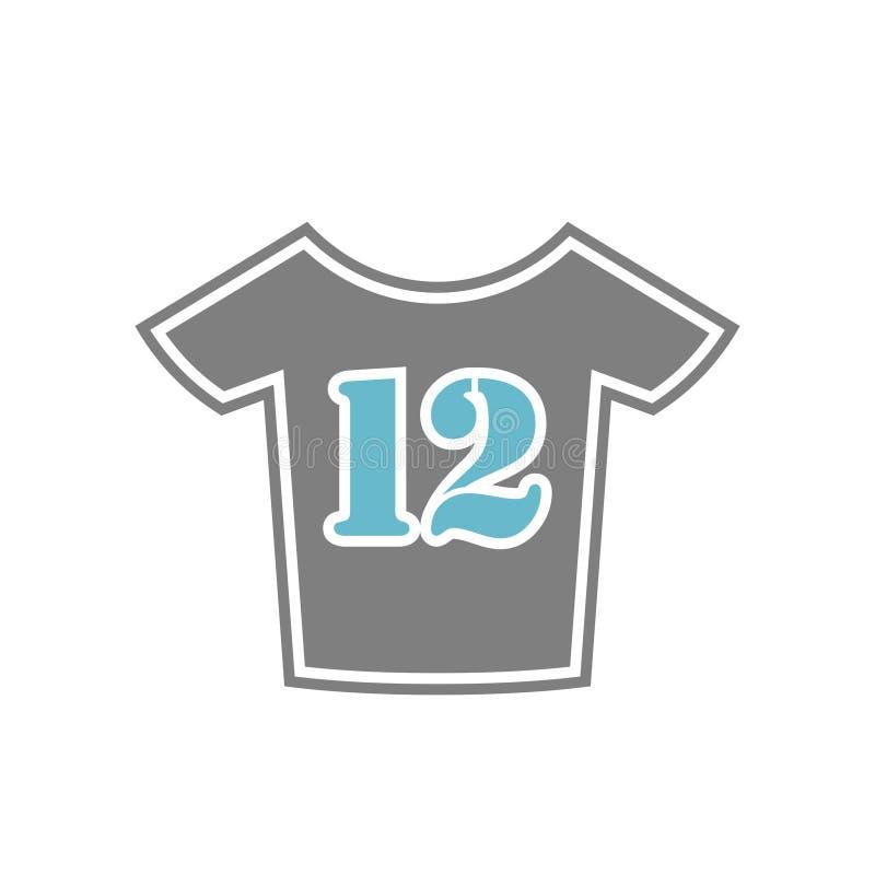 体育在白色背景的穿戴象图表和网络设计的,现代简单的传染媒介标志 背景蓝色颜色概念互联网 时髦标志为 向量例证