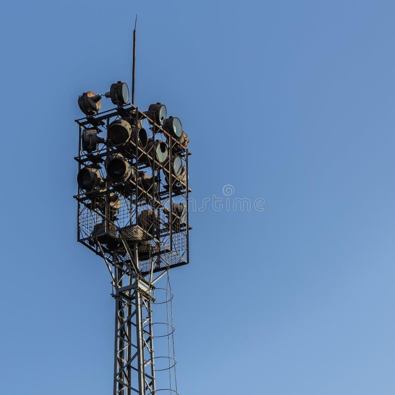 体育场反射器光 库存图片