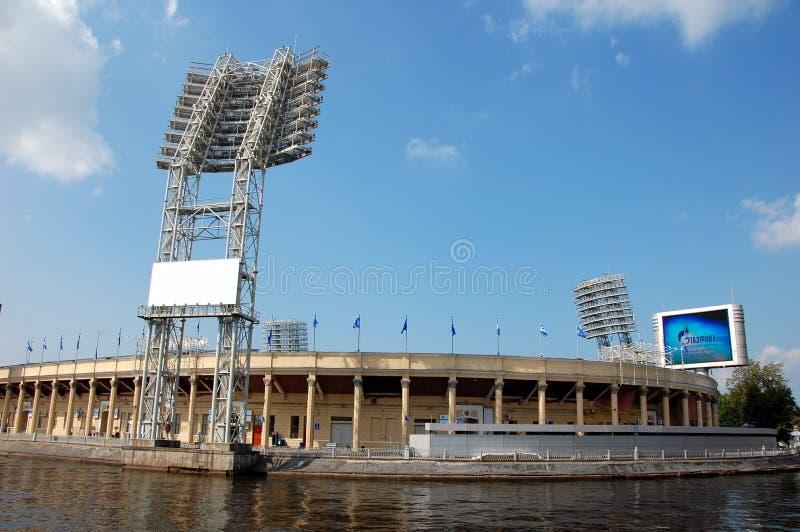 体育场在圣彼德堡 免版税库存照片