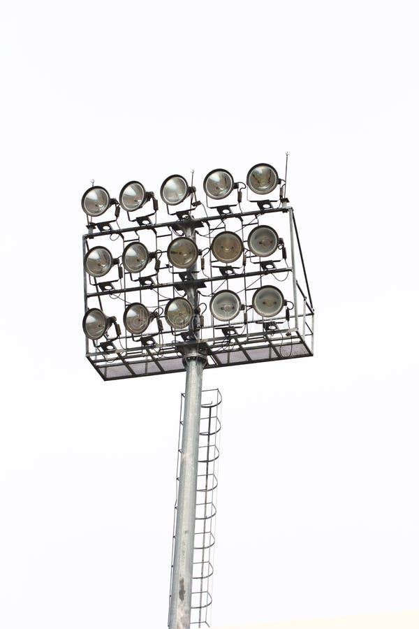 体育场泛光灯 免版税库存照片