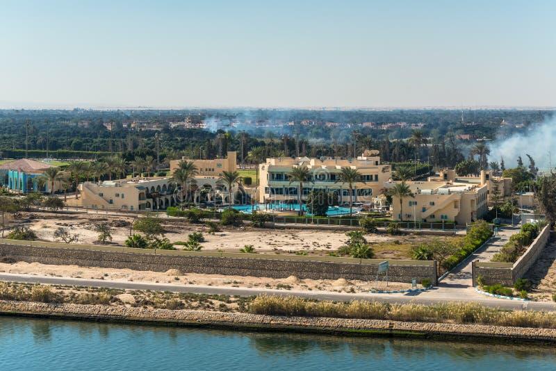 体育支持度假旅馆在伊斯梅利亚,埃及 免版税库存照片