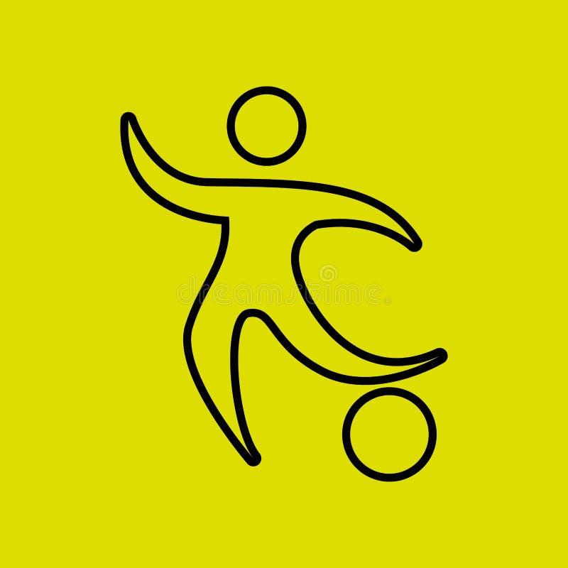 体育构思设计 向量例证