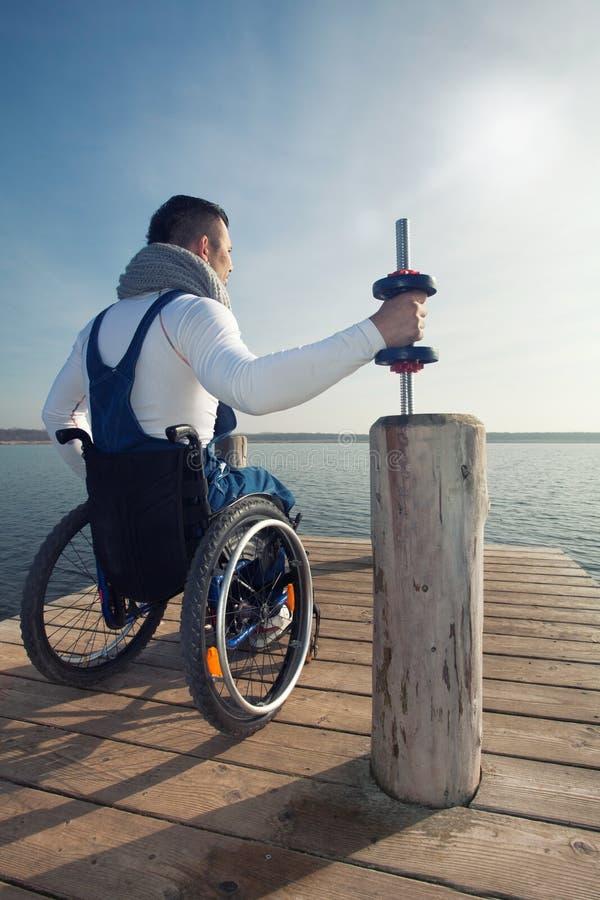 体育残疾人 图库摄影