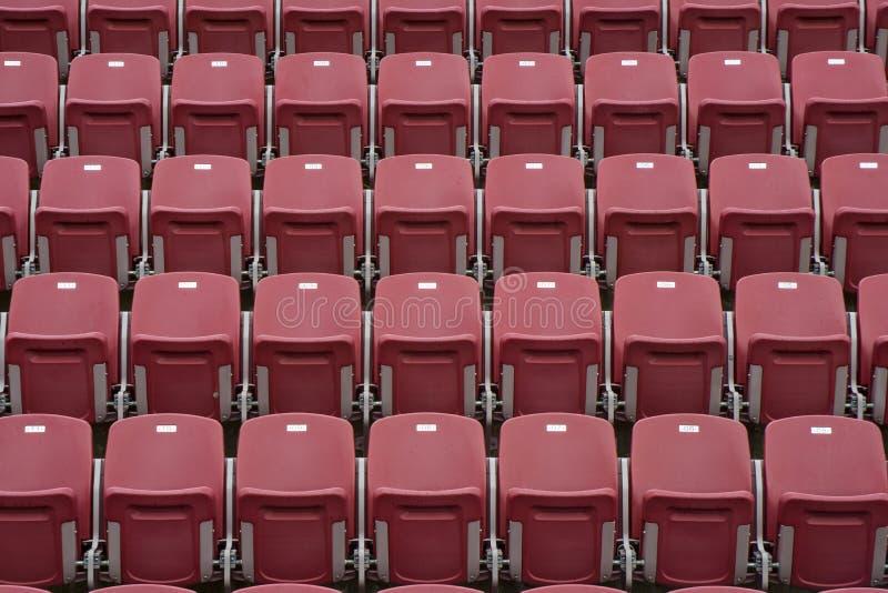 体育比赛空的体育场 图库摄影