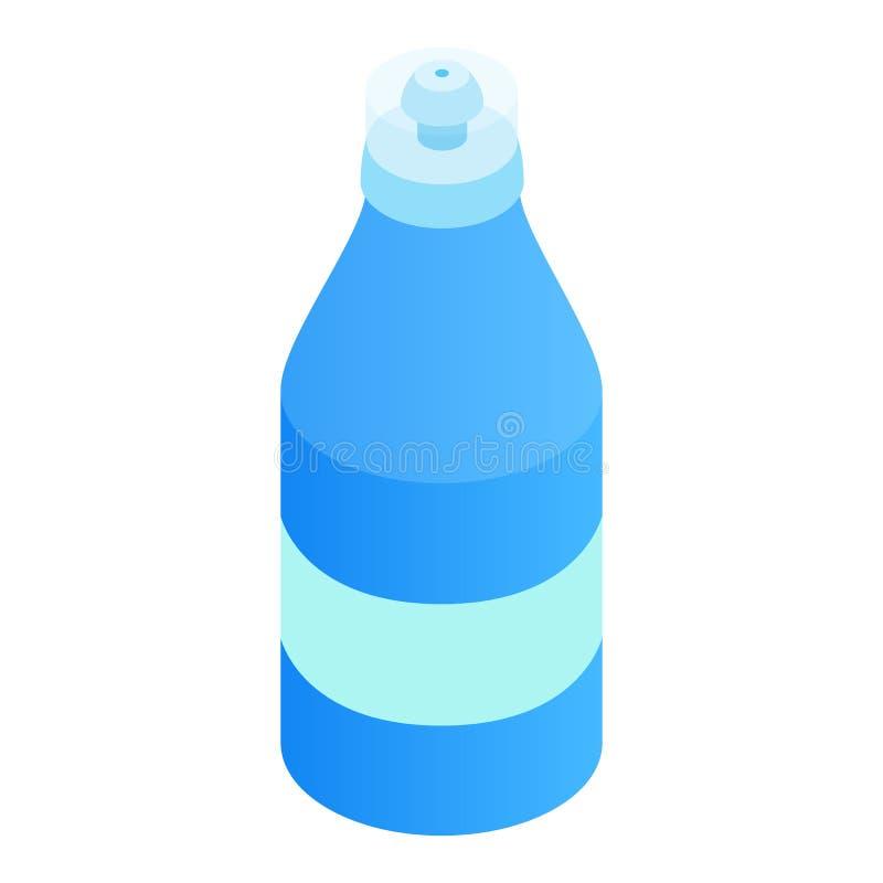 体育瓶3d等量象 向量例证