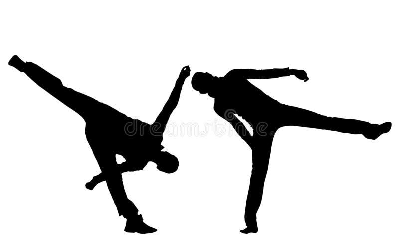 体育舞蹈。 免版税库存照片