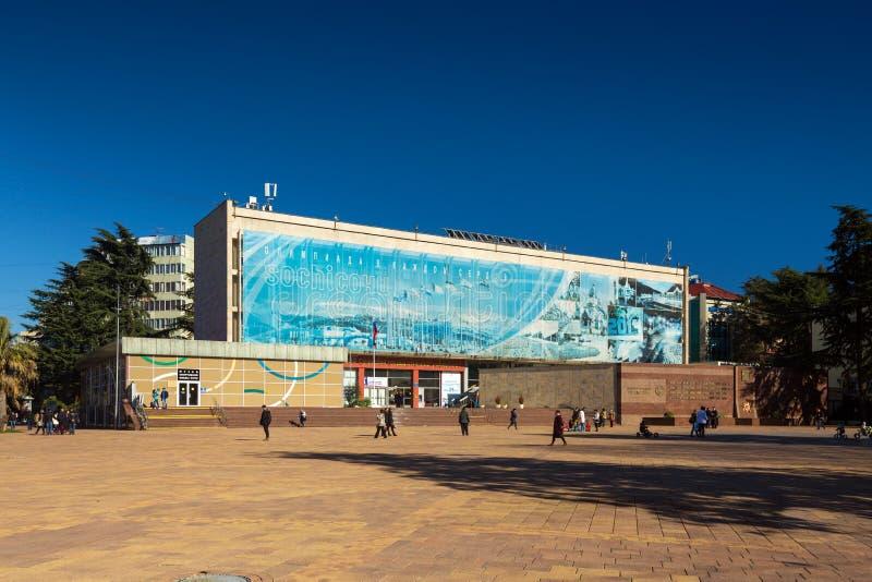 Download 体育荣耀和州立大学博物馆  索契 俄国 图库摄影片. 图片 包括有 街道, 俄国, 视图, 户外, 东部 - 72358227