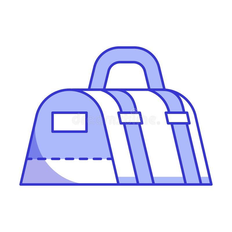 体育袋子象 向量例证