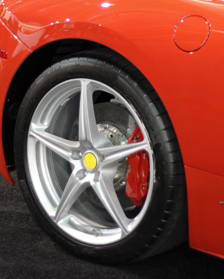 体育轮胎 免版税库存图片