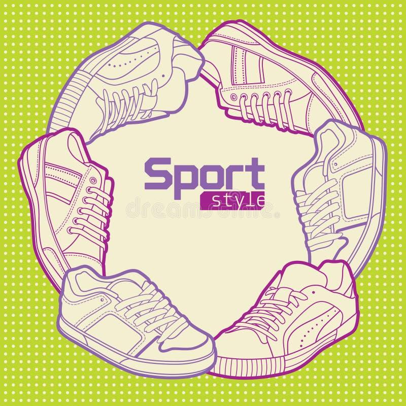 体育运动样式 图库摄影