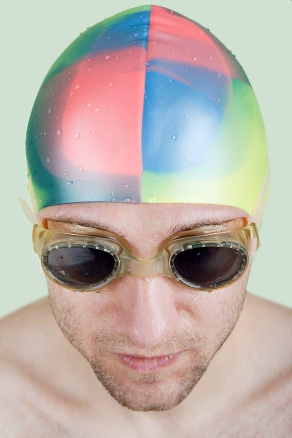 体育运动游泳 免版税库存照片