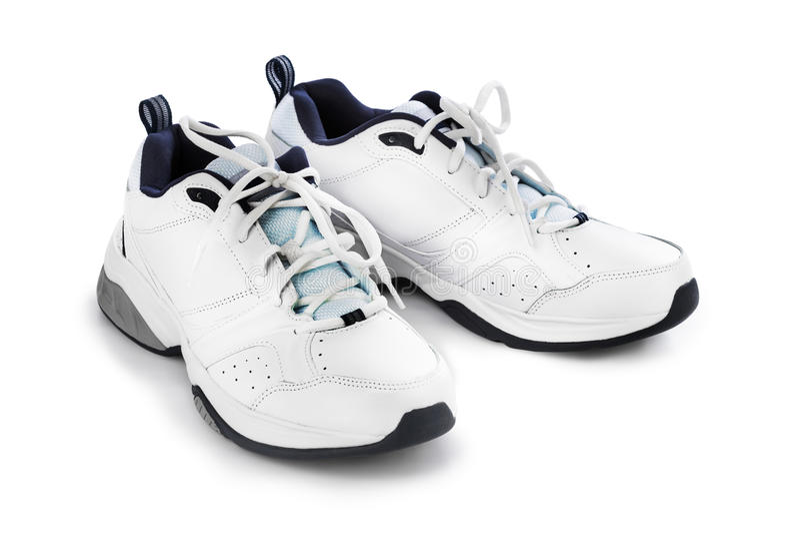 体育运动鞋 免版税库存图片