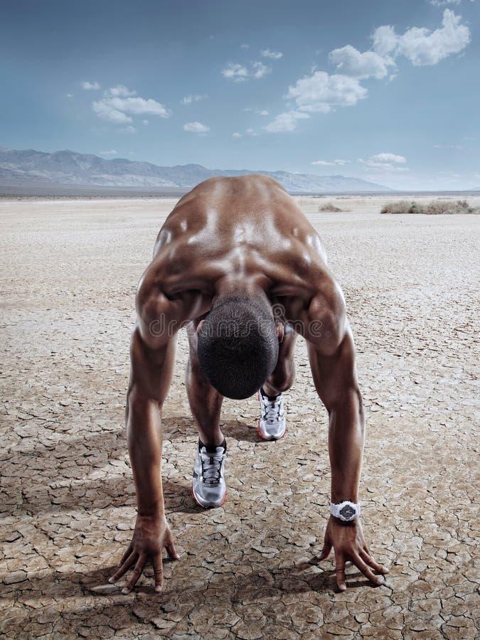体育运动 赛跑者 免版税图库摄影