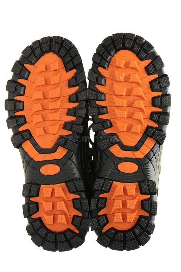 体育鞋子脚底 库存照片