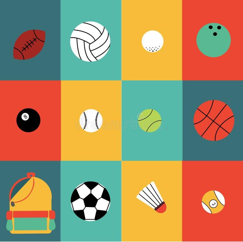 体育颜色 免版税库存图片